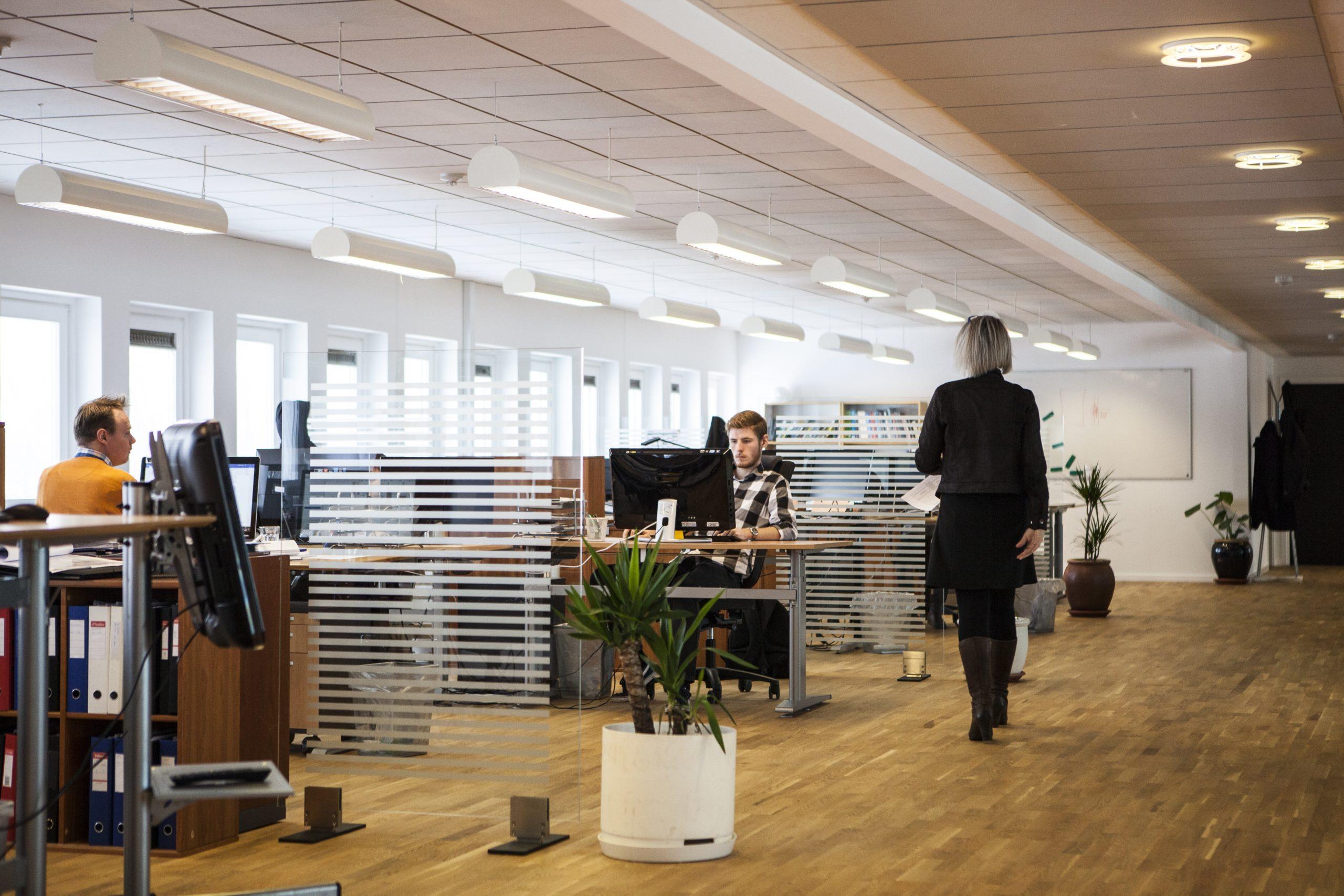 kanceláře open space