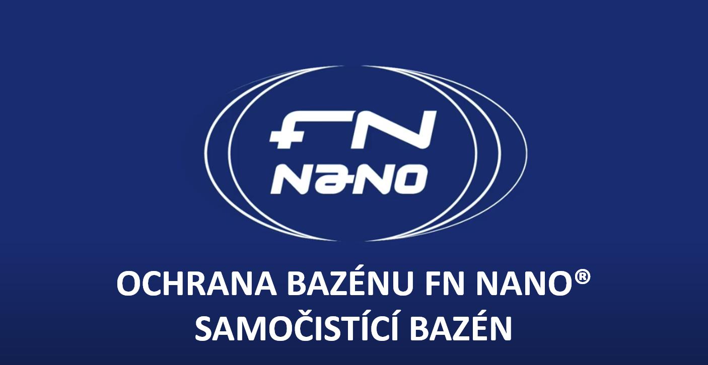 Stěny bazénu nastříkané produkty FN NANO jsou mimořádně odolné proti zarůstání řasami a zvyšují účinnost fotokatalytické nechemické ochrany bazénu proti přemnožení mikroorganismů.